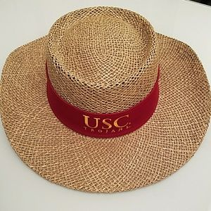 USC Boater Straw Hat